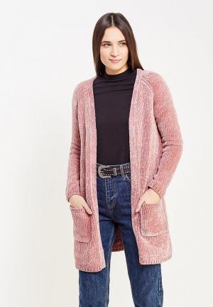 Кардиган Only. Цвет: розовый