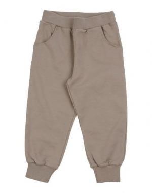 Повседневные брюки LE PETIT COCO. Цвет: голубиный серый