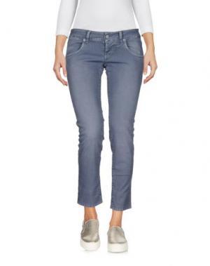 Джинсовые брюки-капри 2W2M. Цвет: серый
