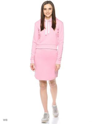 Костюм спортивный L'Amour. Цвет: розовый
