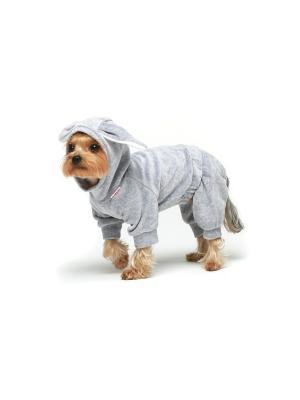 Спортивный костюм для собак Ай Да Пес. Цвет: серый