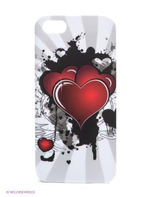 Чехол для iPhone 5/5s WB. Цвет: белый, черный, бордовый