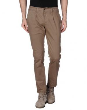 Повседневные брюки - -ONE > ∞. Цвет: коричневый