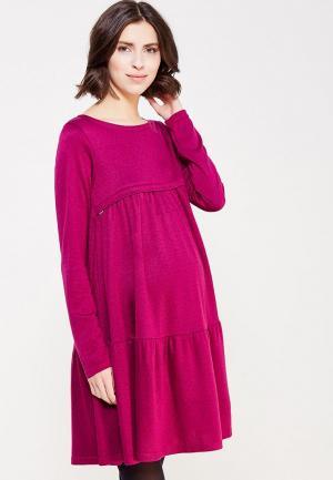 Платье Hunny mammy. Цвет: розовый