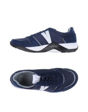 Низкие кеды и кроссовки VIRTUS PALESTRE. Цвет: темно-синий