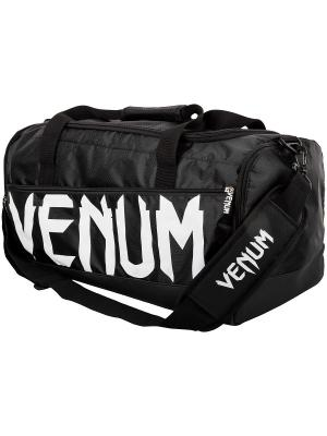 Сумка Venum Sparring - Black/White. Цвет: черный, белый
