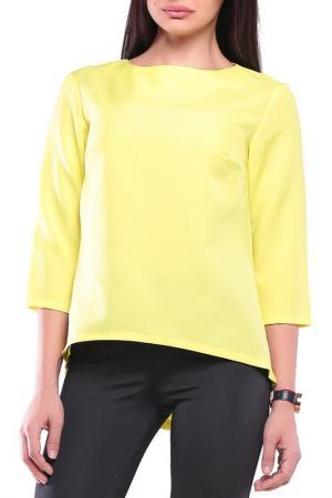 Блуза Dioni. Цвет: желтый