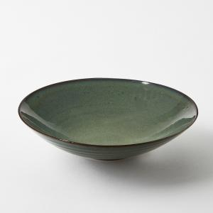 Тарелка глубокая из керамики, диаметр 23 см, Aqua от Serax AM.PM.. Цвет: бирюзовый
