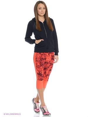 Бриджи Sn 3/4 Gtight W adidas. Цвет: оранжевый