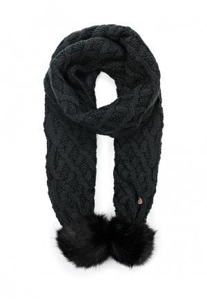 Шарф Trussardi Jeans. Цвет: черный