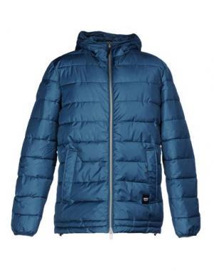 Куртка WEMOTO. Цвет: цвет морской волны