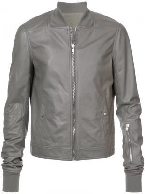 Textured jacket Rick Owens. Цвет: серый