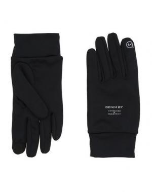 Перчатки DENIM BY VANQUISH & FRAGMENT. Цвет: черный