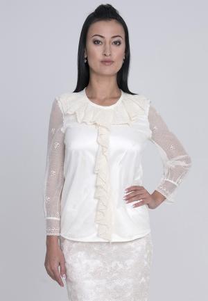 Блуза Лярго. Цвет: бежевый