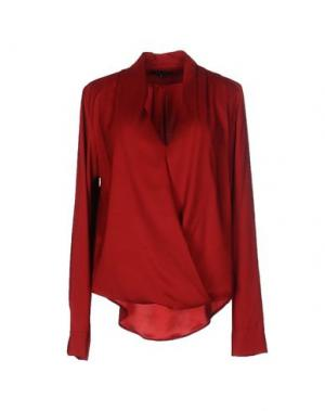 Блузка AXARA PARIS. Цвет: кирпично-красный