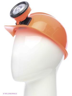 Шлем ЧЕЛОВЕКУ СВОЙСТВЕННО УШИБАТЬСЯ Экспедиция. Цвет: оранжевый