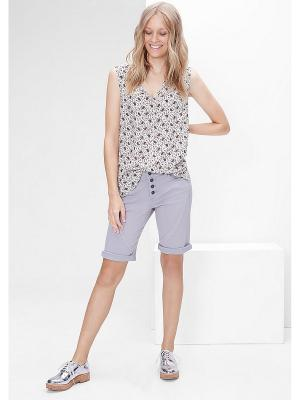 Блузка S.OLIVER. Цвет: бежевый