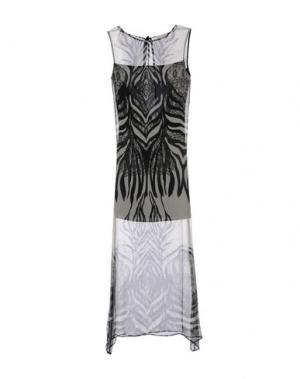 Длинное платье LORELLA SIGNORINO. Цвет: черный
