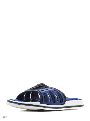 Шлепанцы Mursu. Цвет: голубой, белый, синий