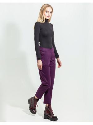 Брюки JN. Цвет: фиолетовый