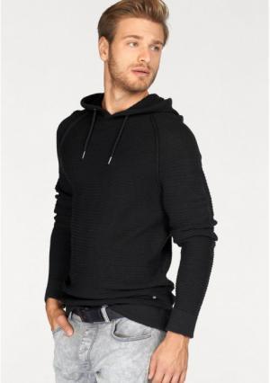 Пуловер JOHN DEVIN. Цвет: черный