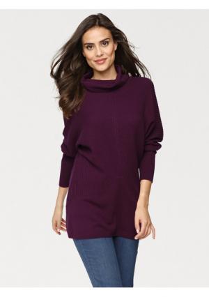 Пуловер Rick Cardona. Цвет: бордовый