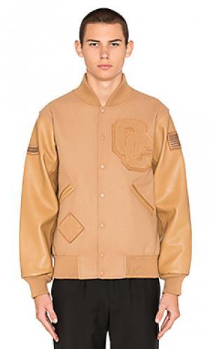Куртка oc varsity Opening Ceremony. Цвет: цвет загара