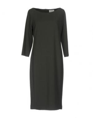 Платье до колена CALALUNA. Цвет: свинцово-серый