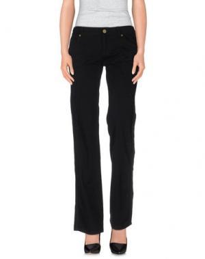 Повседневные брюки TRUST TOILETTE. Цвет: черный