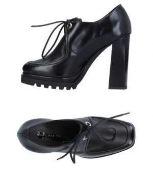 Обувь на шнурках G.P. PER NOY BOLOGNA. Цвет: черный