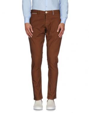 Повседневные брюки CANTARELLI. Цвет: коричневый
