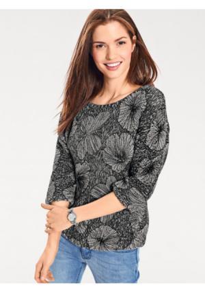 Пуловер B.C. BEST CONNECTIONS by Heine. Цвет: джинсовый синий, серый