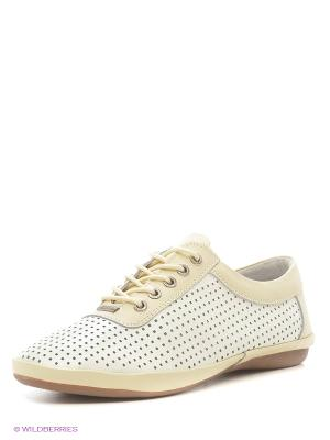 Ботинки ELITE. Цвет: белый, бежевый