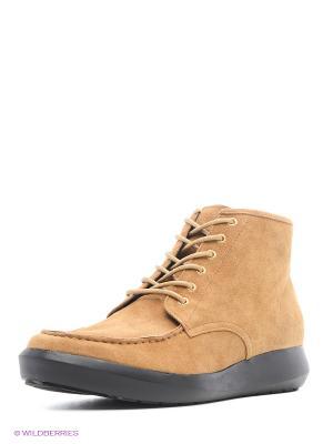 Ботинки UNITED NUDE. Цвет: коричневый