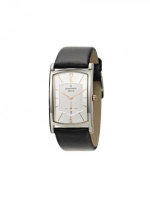 Часы DL4108NM Romanson. Цвет: черный, серебристый