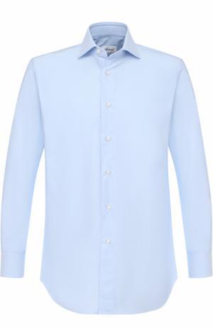 Хлопковая сорочка с воротником кент Brioni RCL8/0601Z