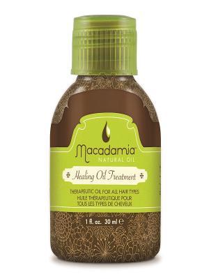 Уход восстанавливающий Macadamia. Цвет: зеленый