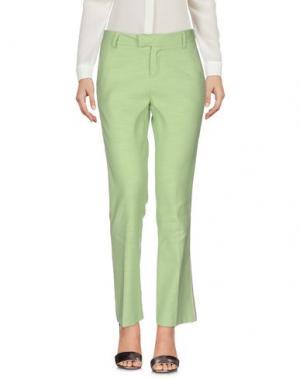 Повседневные брюки GIULIETTE BROWN. Цвет: светло-зеленый