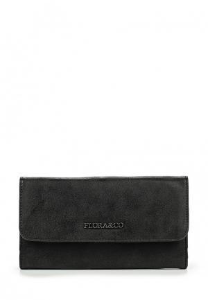 Кошелек Flora & Co. Цвет: черный