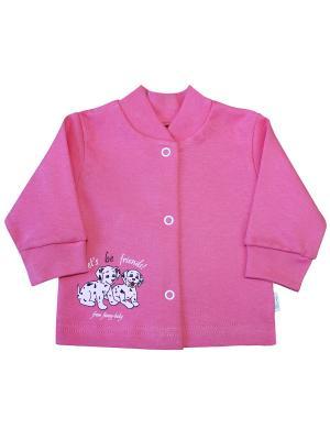 Кофточка Веселый малыш. Цвет: розовый