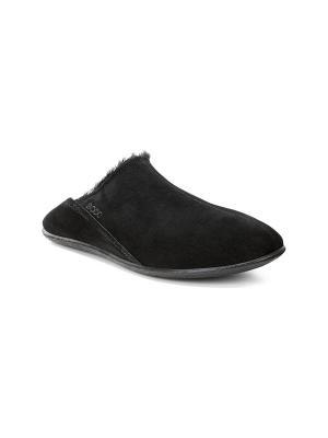 Домашняя обувь ECCO. Цвет: черный