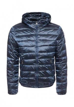 Куртка утепленная Navigare. Цвет: синий