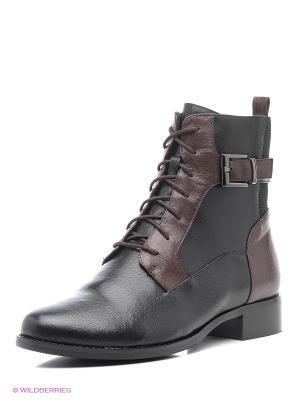 Ботинки Sinta Gamma. Цвет: черный, бордовый