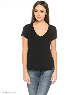 Блузка TOM FARR. Цвет: черный