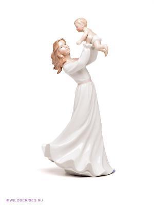Девушка с ребенком Pavone. Цвет: белый (осн.), коричневый