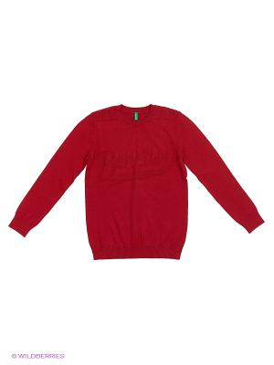 Джемпер United Colors of Benetton. Цвет: темно-красный