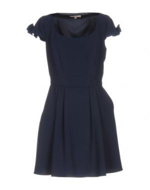Короткое платье BETTY BLUE. Цвет: темно-синий