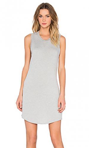 Платье-майка jules Feel the Piece. Цвет: серый