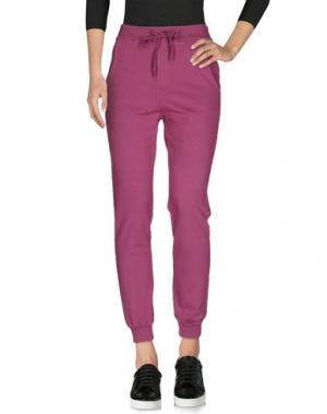Повседневные брюки NÖE. Цвет: пурпурный