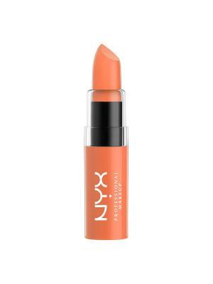Увлажняющая помада. BUTTER LIPSTICK - SHOOTING STAR 26 NYX PROFESSIONAL MAKEUP. Цвет: оранжевый